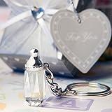 Wahl Crystal Collection Babyflasche Design Schlüsselanhänger begünstigt