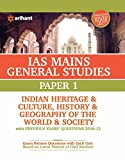 IAS Mains Paper 1 Indian Heritage & Culture History & Geography of the world & Society