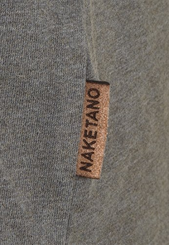 Naketano Male T-Shirt Suppenkasper VI Heritage Dark Grey Melange