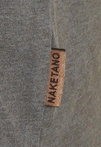 Naketano Male T-Shirt Suppenkasper VI Heritage Dark Grey Melange