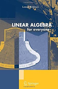 Linear Algebra for Everyone par [Robbiano, Lorenzo]