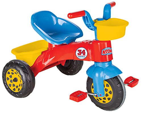 Pilsan pilsan07169Atom Dreirad Spielzeug - Baby-pedal-traktor