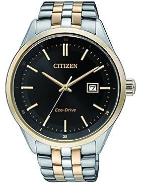 Citizen Herren-Armbanduhr Analog Quarz Edelstahl BM7256-50E