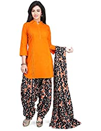 Vastra Vinod Women's Cotton Straight Salwar Suit Set - B071HPFH1C