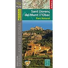 Sant Llorenç del Munt i l'Obac, mapa excursionista. Escala 1:25.000. Alpina Editorial.: 2016