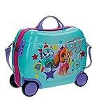 Disney authentique à chevaucher pour enfant ABS Valise à coque dure Cabine Coque Roller Turquoise 03 Best Pup À main