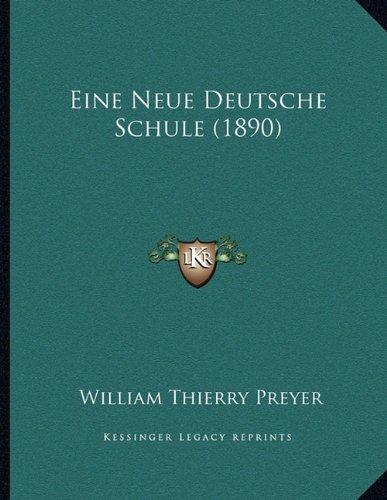 Eine Neue Deutsche Schule (1890)