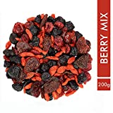 Sorich Organics Berries Mix, High in Anti-Oxidants (Unsulphured, Unsweetened and Naturally Dehydrated Berries)