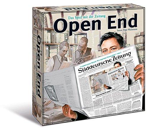 Open End: Das Spiel mit der Zeitung