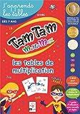 Tam Tam - Coffret CP Multimax, j'apprends les tables de multiplication