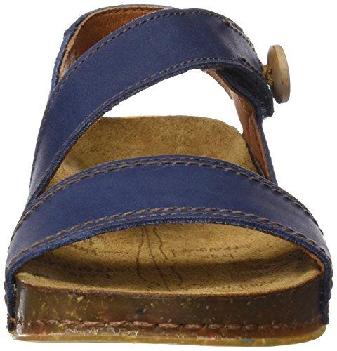 ART 0868 Olio We Walk, Sandales à Bride à la Cheville Femme Bleu (Blue)