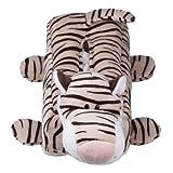 Decus 1 Stk. Tissue-Box Sehr Bezaubernd Plüsch Puppe Tier Design Taschentuchbox Überzug 30*10*10cm (Leopard-8)