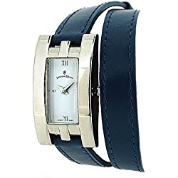 Jacques Du Manoir Ladies Fashion Blue Extra Long Multi-Wrap Strap Watch JDWDT2DB