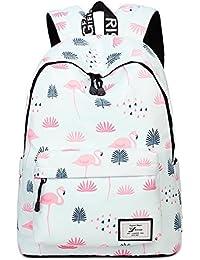 Acmebon Léger d'impression de mode 14inch portable School sac à dos pour les filles de l'adolescence et les garçons sac à dos des femmes
