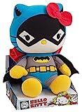 Jemini Hello Kitty 022789 Plüschfigur im Stil von DC-Comicheld Batman, 27cm