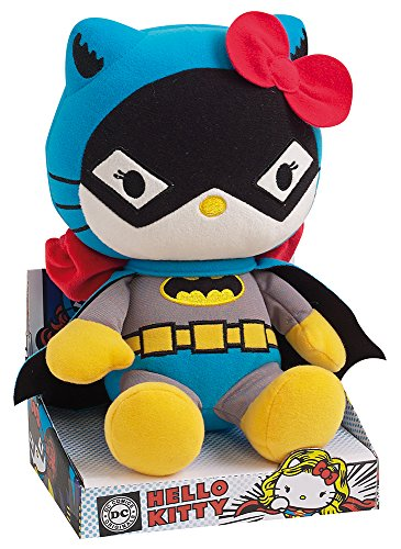 Hello Kitty - Batman Plush DC Comics Super Heroes - 27cm 10.5""