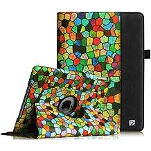 Fintie iPad Air Funda - Giratoria 360 grados de Rotación Case Funda Carcasa con Stand Función y Auto-Sueño / Estela para Apple iPad Air (iPad 5th Generación 2013 versión), Mosaic