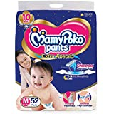 MamyPoko Pants Extra Absorb Diaper, Medium (52 Count)