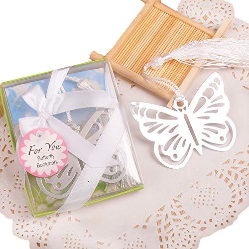 20 PCS Schmetterling Lesezeichen regalos de boda para los invitados Mädchen Baby Dusche Souvenirs Hochzeit Gefälligkeiten und Geschenke Für Die Gäste
