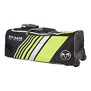 Club Players Bag Black Silver Fluoro Yellow Large