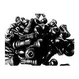Kursport Válvulas TR412 para neumaticos (Bolsa de 100 unidades). Especial para llantas de aluminio, utilidad en moto y coche.