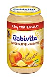 Bebivita Frucht und Getreide Hafer in Apfel-Karotte, 250 g
