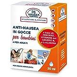 P6 Nausea P6 Anti Nausea in Gocce per Bambini e Adulti - 30 ml