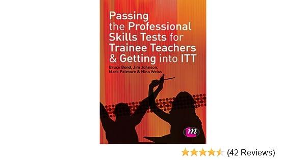 professional skills test pass mark