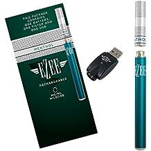 Ezee Cigarrillo Electrónico Kit de Inicio | Sabor a Mentol | Sin Nicotina y sin Tabaco
