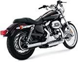 Python/Drag Special 2 1/2' Slash-Cut Slip-On silencieux (Harley Sportster 04-13)