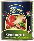La Rosina - Pomodori Pelati, Immersi In Succo Di Pomodoro - 800 G - [confezione da 12]