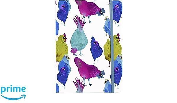 14,8 x 21 cm Clairefontaine 115256C Cahier broch/é souple les coquettes 144 pages lign/ées fermeture /élastique