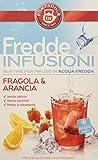 Pompadour Fredde Infusioni, Fragola Arancia - 18 Filtri