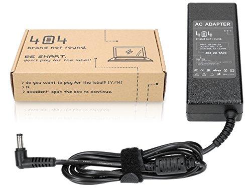 Wessper 404Brand Chargeur d'alimentation Ordinateur Portable pour ASUS X53S (19V, 4.74A, 90W, 5.5-2.5mm) sans Cordon d'alimentation