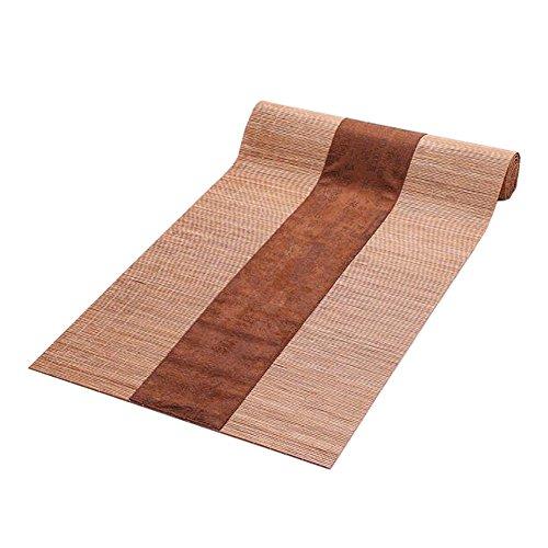 Japanischen Stil Tischdekoration Bambus Tischläufer Matte Tee Vorhänge-A3