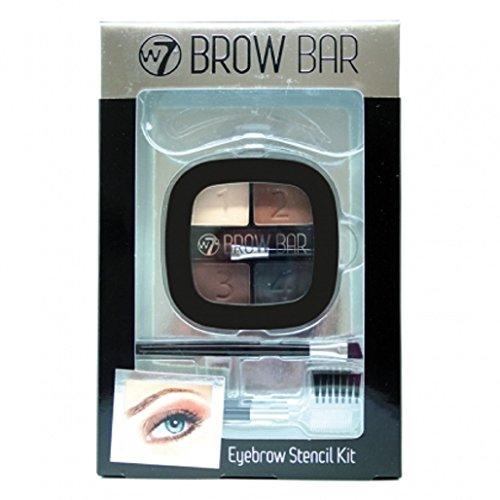 W7 Eye brow bar - Kit make up augen brauen, 1er Pack (1 x 100 g)