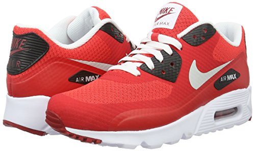 Nike Herren Air Max 90 Ultra Essential Laufschuhe, Rojo (Rojo (action red/pure platinum-gym red-black)), 42.5 EU -