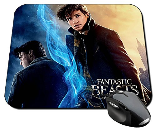 Harry Potter Daniel Radcliffe Eddie Redmayne Newt Scamander B Alfombrilla Mousepad PC