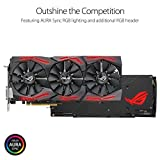 ASUS Carte Graphique ROG-STRIX-RX580-T8G-GAMING (AMD Radeon RX 580, 8Go Mémoire GDDR5)