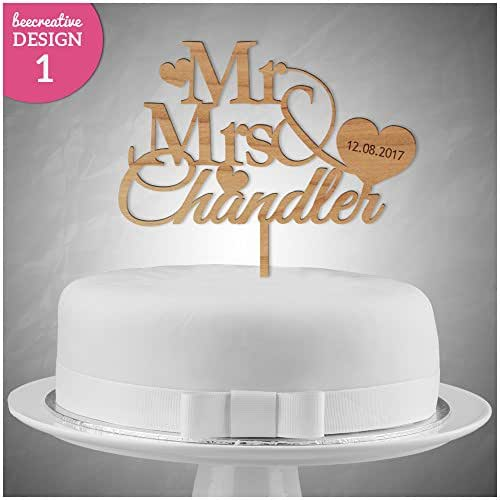 personalised wooden wedding cake toppers uk personalised wedding anniversary wooden cake topper 18259