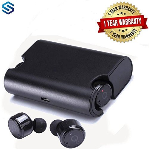 Supreno X2T TWS Bluetooth True Wireless Stereo Earphone with Mic - Blue and for all andriod devices.