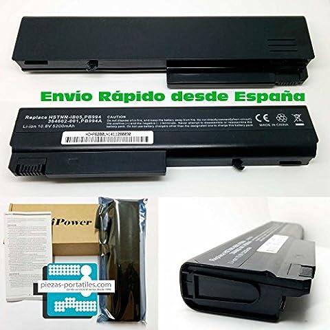 Batería Nueva Compatible para Portátiles HP - Compaq 6710s 6910p 6715b Li-Ion 10,8v 5200mAh