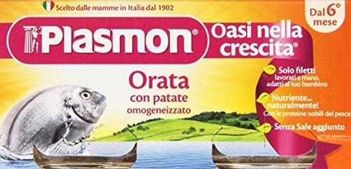 Plasmon - Oasi nella crescita, Omogeneizzato con Orata e Patate, dal 6 mese - 160 g