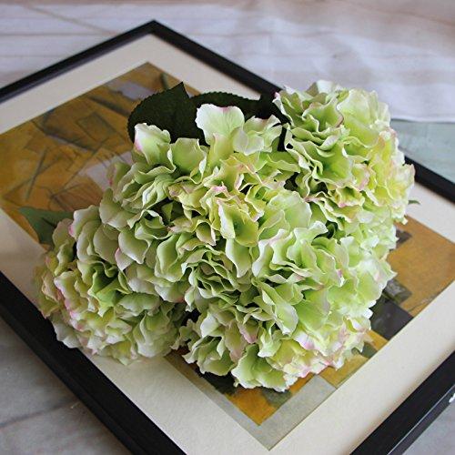 DYF Simulation de Haut Grade Fleur Plante d'arrière-Plan décoration de Mariage, Vert
