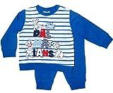101 Dalmatiner Kollektion 2018 Schlafanzug 74 80 86 92 98 Jungen Pyjama Hunde Lang Blau (Marine, 86-92)