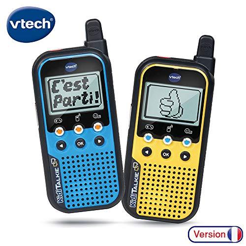 VTech - Kidi Talkie - Talkie walkie pour enfant - avec écran et jeux (518565)