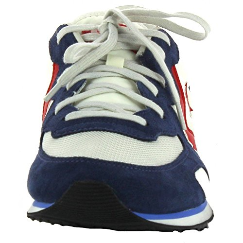Converse Auckland Racer Distressed Ox, Sneakers Homme Multicolore (Vaporous Gray/athletic Navy)