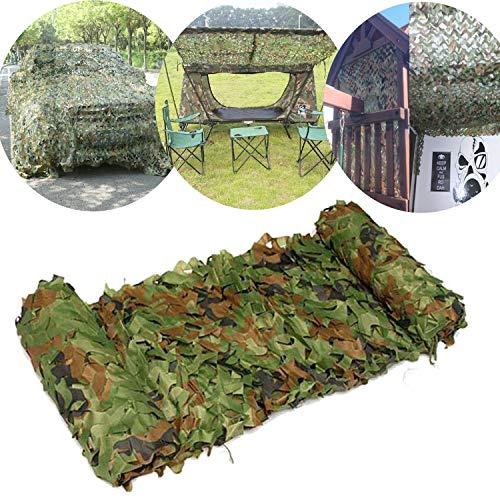 Tarnnetz, MAXTUF 2x3m Camouflage Netz Woodland Armee Tarnung Netz für Auto KFZ Deko Waldlandschaft Jagd Outdoor Camping