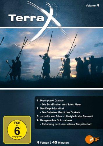 Terra X - Volume 4: Brennpunkt Qumran / Das Delphi-Syndikat / Jenseits von Eden / Das geraubte Gold Jahwes