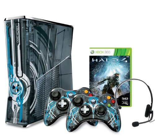 Xbox 360 S 320 GB Halo 4 Bundle (Limitierte Edition) (Halo-xbox-360-spiele)